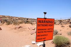 Horseshoe Bend (olgatticus) Tags: america usa arizona utah canyon nature cool rocks horseshoe horseshoebend warning canon eos
