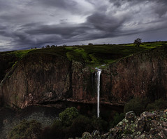 Phantom Falls (georgechristison) Tags: clouds waterfall landscape nature storm water rocks george christison