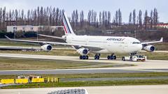 Air France Airbus A340-300 F-GLZJ Paris (CDG/LFPG) (Aiel) Tags: airfrance airbus a340 a340300 fglzj paris charlesdegaulle canon60d tamron18400