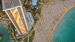The rainbow tower in Waikiki, Hawaii. (Corey Rothwell) Tags: hawaii hotel travel honolulu waikiki beach