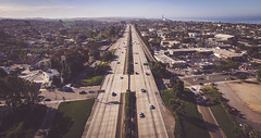 Sunday Morning in the Village (riknor) Tags: freeway california i5 san diego carlsbad aerial dji phantom 3 pro