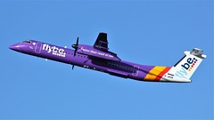 G-JEDR (AnDyMHoLdEn) Tags: flybe dash8 bombardier egcc airport manchester manchesterairport 23r