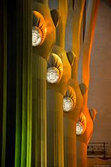Columnas de La Sagrada Familia. Barcelona, España. (pablocba) Tags: sagrada familia gaudi antoni barcelona españa arquitectura architecture catalunya columnas columna color colores rainbow nikon d7100
