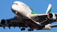 A6-EON Emirates A380-800 IAH 2019-01-13 (GFB Aviation Photography) Tags: a6eon emirates a380 a380800 iah kiah