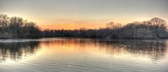 Hollows Sunset 2 (ArtGordon1) Tags: london england uk winter january 2019 davegordon davidgordon daveartgordon davidagordon daveagordon artgordon1 sunset reflections reflection hollowpond hollowponds water pond lake
