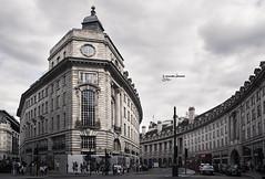Regent St (veronika b phoenix) Tags: london city landscape architecture buildings street people colors greyscale clouds trip journey adventures nikon photographer glass