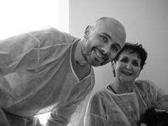 Philippe, Mamie et Élise (Dahrth) Tags: gf1 lumix20mm microquatretiers famille grandmother grandmère bébé baby père father dad blackandwhite bw noiretblanc