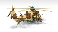 Lego Mil Mi-35M Hind E | Minifigure Scale (DarthDesigner) Tags: ldd moc builds instructions bricks brick mocs legodigitaldesigner starwars oninemesis thedarthdesigner tdd military lego digitaldesigner darth mi24 mi35 milmi24 milmi35 hind mi24hind legohind lehomi24