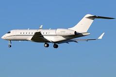 N500QA_02 (GH@BHD) Tags: n500qa bombardier bd700 globalexpress global5000 hbkcontractingco bizjet corporate executive aircraft aviation bfs egaa aldergrove belfastinternationalairport