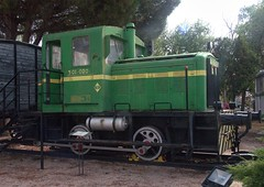 RENFE 0-4-0 diesel shunter No. 301-020 at Alcázar de San Juan Railway Museum on 20 Oct 2018 (Trains and trams eveywhere) Tags: renfe spain diesel shunter locomotive 040dm preserved alcázardesanjuan spanishpreservedlocomotives 301020
