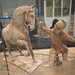 Tang dynasty intractable horse