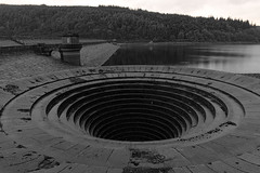 Ladybower Reservoir - Sinkhole (JerryGoulet) Tags: ladybowerreservoir out pond nikon d7100 nature bw uk outdoors wild landscape water lakes holes reservoir art plugholes lights dark england outside wilderness xtreme exposure excellence experience exploration contemporary volunteer british natural nikonflickraward nikond7100 natureanythinggoes nationaltrust lowlight light lake highiso greatbritain depthoffield spring summer angle atmosphere aperture artcityartists atmospheric autumn beautifulexpression infinitexposure outdoor pool old