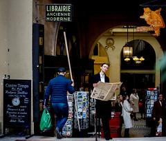 (-will wilson-) Tags: galerievivienne paris street paris2e france woman man public