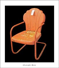 For Sale ✔ (ARRRRT) Tags: forsale arrrrt ✔ patiochair rusty ugly old