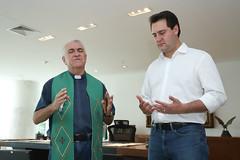 Visita do Padre Luizinho de Apucarana