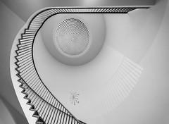 ( ° (Blende1.8) Tags: staircase stairs stairwaytoheaven spiralstaircase stairway stair wendeltreppe treppe treppenhaus treppenauge banister geländer treppengeländer geschwungen form forms architectural interior steps stufen architektur architecture sony alpha ilce7m3 a7m3 a7iii voigtländer voigtlaender heliarhyperwide 10mm