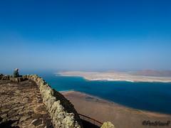 La Graciosa - Spain (PortViewR) Tags: lanzarote miradordelrio outside blue la graciosa sky viewpoint