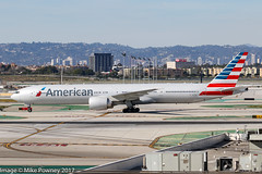 N721AN - 2013 build Boeing B777-323ER, shortly after arrival at Los Angeles (egcc) Tags: 7le 1083 31546 aa aal american americanairlines b773 b777 b777300 b777323er boeing california imperialhill klax lax lightroom losangeles n721an triple triple7