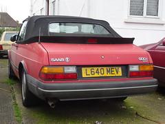 1993 Saab 900i 16v Convertible (Neil's classics) Tags: vehicle 1993 saab 900i 16v convertible car