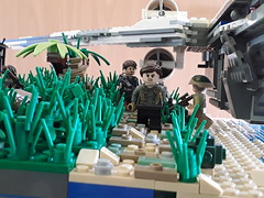 Battle of Scarif (squad_productions501) Tags: star wars moc lego squadproductions 501 rogue one u wing fighter scarif mission