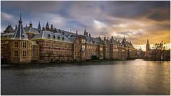 Heavy weather in The Hague (Rob Schop) Tags: verkiezingen denhaag hofvijver binnenhof zuidholland politics nederland storm hdr longexposure nd64 clouds samyang12mmf20 f8 sonya6000 hoyaprofilters lrcc