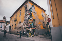 Urban art (]vincent[) Tags: portugal porto trip home vincent portrait us self you ginger brunch port wine calem douro river art urban sony rx 100 mk iv rebelo rabbit gaia people