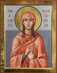 Образ равноапостольной Марии Магдалины (в технике энкаустики)