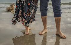 Fotos para Esther #9 (Héctor Rodríguez Maciá) Tags: sanjuan alicante españa spain playa mar costa arena mediterráneo perro pie pies pierna piernas