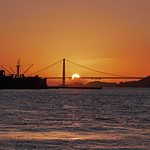 Sunset Behind the Golden Gate thumbnail