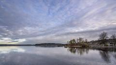 Lake Washington Sunrise (BobbyFerkovich) Tags: lake washington sunrise bristol apartments renton landing water clouds serene