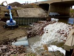 South Logan Creek stabilization project is making progress, Wayne (ali eminov) Tags: wayne nebraska bridges creeks logancreek culverts floodcontroldam
