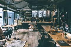 people inside cafe - Credit to https://myfriendscoffee.com/ (John Beans) Tags: coffee place tea urban cafe coffeebeans shopbeans espresso coffeecup cup drink