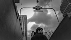 On The Top. (Lea Ruiz Donoso) Tags: madrid metro nuevosministerios people calles streets gente urban metrodemadriid cityscape city ciudad