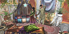 #59 - Bollywood Time (Yvain Vayandar) Tags: secondlife sl fantasy fancy roleplay hindu bhangra bollywood indian color noblecreations gild haste modulus emotions anaboutique pm moonsha pukerainbows camdem petitemort 22769 foxes salomedesigns