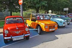 Manlleu. (Osona) Spain. (Josep Ollé) Tags: seat citroen coches cotxes classical clásicos fotos cars