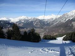 skiing (gwackamo) Tags: italy skiing bormio alps red slope snow hill mountain