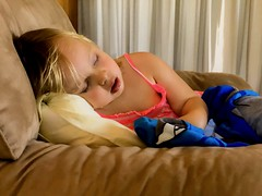 Tears of Surrender (armct) Tags: sleep child tearful toddler resting resistance surrender tired vivacious comfort serenity peace favourite comforter afternoon armchair relaxation stress exhaustion