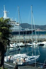 In Vigo harbour (ianhb) Tags: spain vigo ship cruise harbour sailing boat