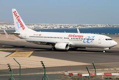EC-LXV (GH@BHD) Tags: eclxv boeing 737 738 737800 b737 b738 ux aea aireuropa ace gcrr arrecifeairport arrecife lanzarote aircraft aviation airliner