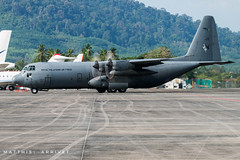 RMAF Lockheed C-130H Hercules (Matthisphotography) Tags: rmaf royal malaysian air force forces lima langkawi lima19 2019 hercule c130h c130 lockheedmartin lockheed wing apron taxiway runway taxiing engines propellers cockpit airplane airshow aircraft aviation aviationgeek avion aviationlover american malaysia island international maritime aerospace aeronautics exhibition turboprop shuttle sky grey