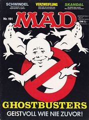 MAD #191 (micky the pixel) Tags: comics comic heft magazin satire humor bsv williamsverlag mad alfredeneumann rolftrautmann ghostbusters geist ghost gespenst