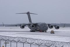 IMGP1563@L6 (Logan-26) Tags: boeing c17a globemaster iii 077171 msn f182p171 usa air force snow riga international rix evra latvia airport winter aleksandrs čubikins military