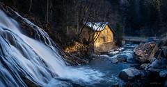 Waterfall Badgastein (W.MAURER foto) Tags: badgastein österreich austria salzburg waterfall nature landscape river wasserfall gelb movement wasser longtimeexposure outside water bachbett