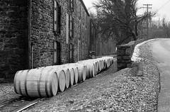 Bourbon Distillery Tour (bclook) Tags: olympusom2n zuiko5014 agfaapx400 bwfp istilshootfilm filmisnotdead bourbon woodfordreserve monochrome