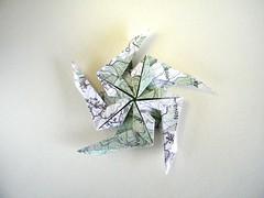 Pentagonal Spinning Star - Masoud Hosseini (Rui.Roda) Tags: origami papiroflexia papierfalten estrela estrella étoile stella pentagonal spinning star masoud hosseini