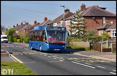 Warrington's Own Buses - YJ62 FJO (Tf91) Tags: warrington warringtonbus warringtonboroughtransport warringtonsownbuses blueline 32 widnes 19 leigh yj62fjo optare versa hybrid 101