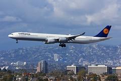A340 D-AIHE Los Angeles 21.03.19 (jonf45 - 5 million views -Thank you) Tags: airliner civil aircraft jet plane flight aviation lax los angeles international airport klax lufthansa airbus a340642 daihe