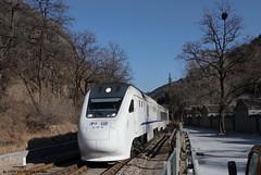 I_B_TSKL4246 (florian_grupp) Tags: asia china train railway railroad beijing peking normalgauge cr s2 badaling yaqing qinglongqiao mountain chinesewall historic station ndj3