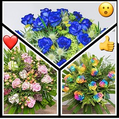 When it comes to roses at Parsley and Sage we provide you with choice! And something a little unusual! Which are your favourites? Blue, rainbow or chocolate dipped? Show your emoji!  Click the link parsleyandsage.co.uk to order yours today :revolving_hear (parsleyandsage11) Tags: valentinesday2019 valentinesdaygifts rainbowrose inspiredbypetals chocolaterose valentinesdaygiftideas florwerstagram valentinesdaygift flowersofinstagram rainbowroses awesomeflorals blueroses flowerbeauties valentinesdayflowers parsleyandsageflorist valentinesday stokeontrent blooooms