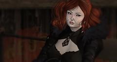 Mira (christophersaxton) Tags: secondlife second life person female woman night dark moonlight midnight vampire naughty